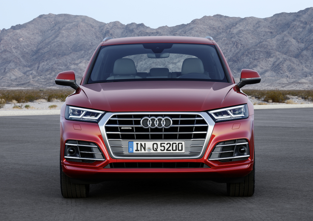 Audi Q5 2017 - front