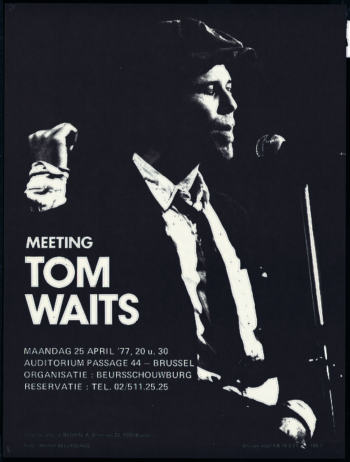 Tom Waits. Foto Herman Selleslags