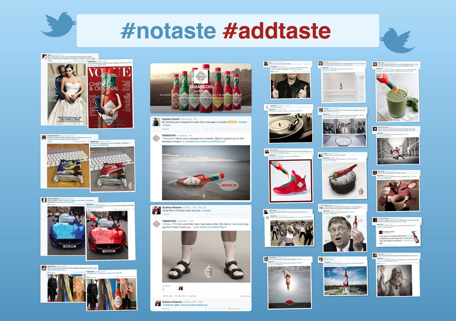 For every #notaste Tabasco couldn't resist to #addtaste