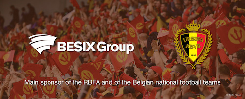 Preview: BESIX Group future official sponsor of the Belgian Red Devils