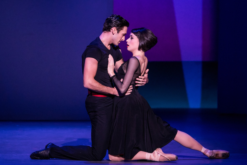 Garen Scribner and Sara Esty in An American in Paris. Photo by Matthew Murphy