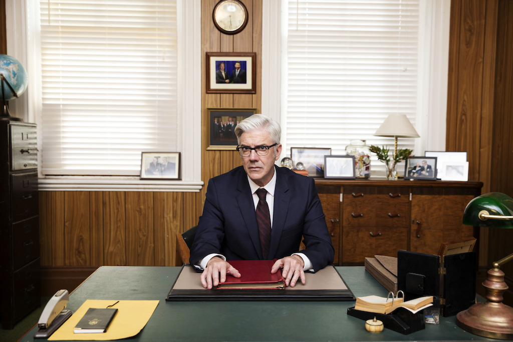 The Ex-PM season 2 - Shaun Micallef as Andrew Dugdale