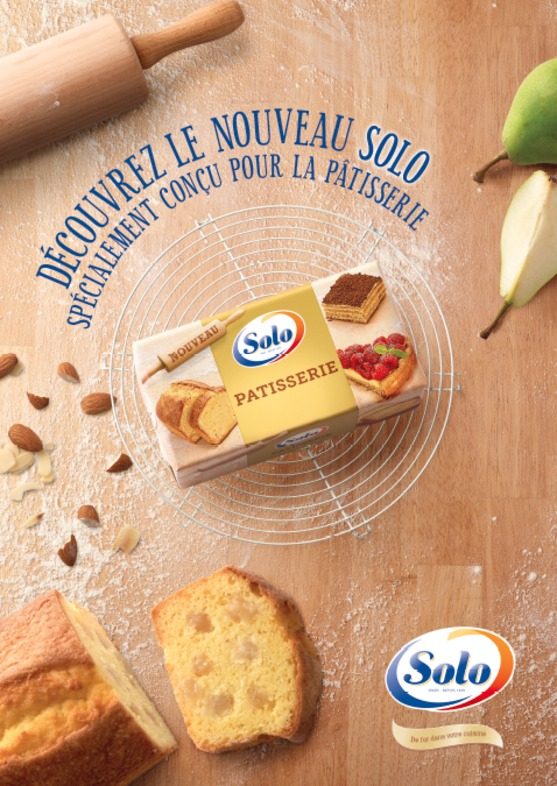 'Solo pâtisserie'  for Unilever Europe - Brand Building