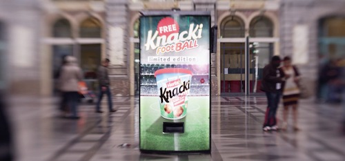 Knacki FootBall Vending Machine