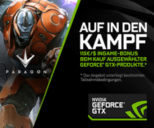 Preview: NVIDIA Bundle: GeForce und Paragon in einem Paket