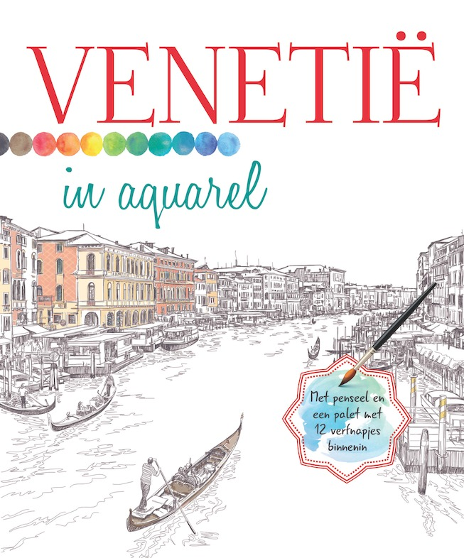 Cover 'Venetië in aquarel'