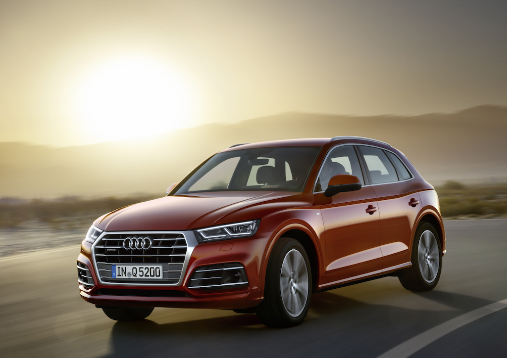 Audi Q5 2017 - 3/4 avant