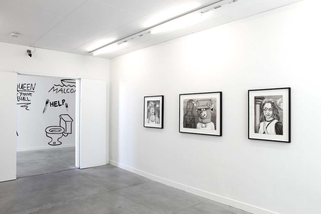View of Mary Reid Kelley's exhibition at M – Museum Leuven | Photo (c) Dirk Pauwels