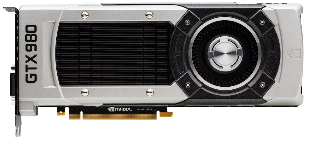 NVIDIA GeForce GTX 980 Front