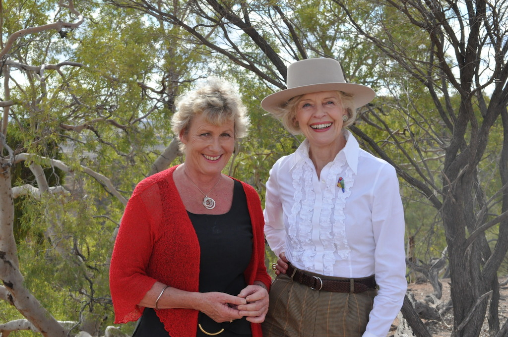 Ep 2 Winton Heather with Dame Quentin Bryce in Winton
