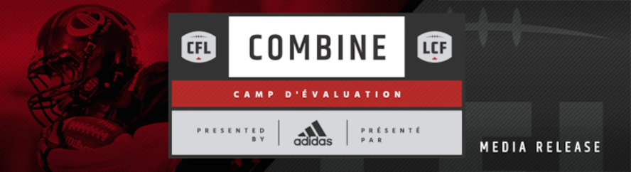 CFL COMBINE WEEK SCHEDULE