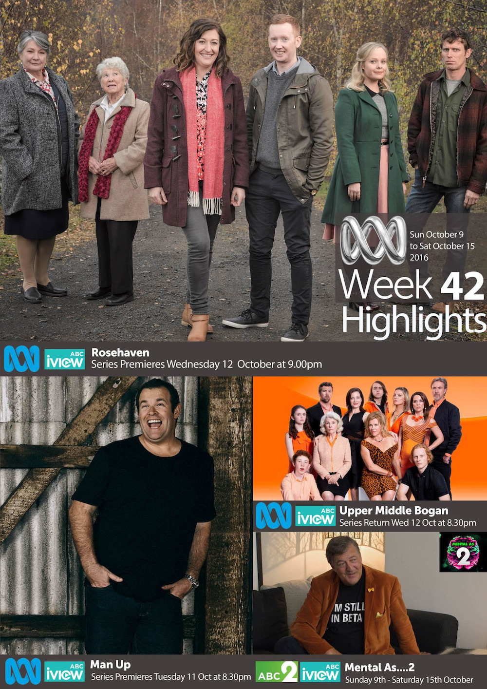 ABC Program Highlights - Week 42