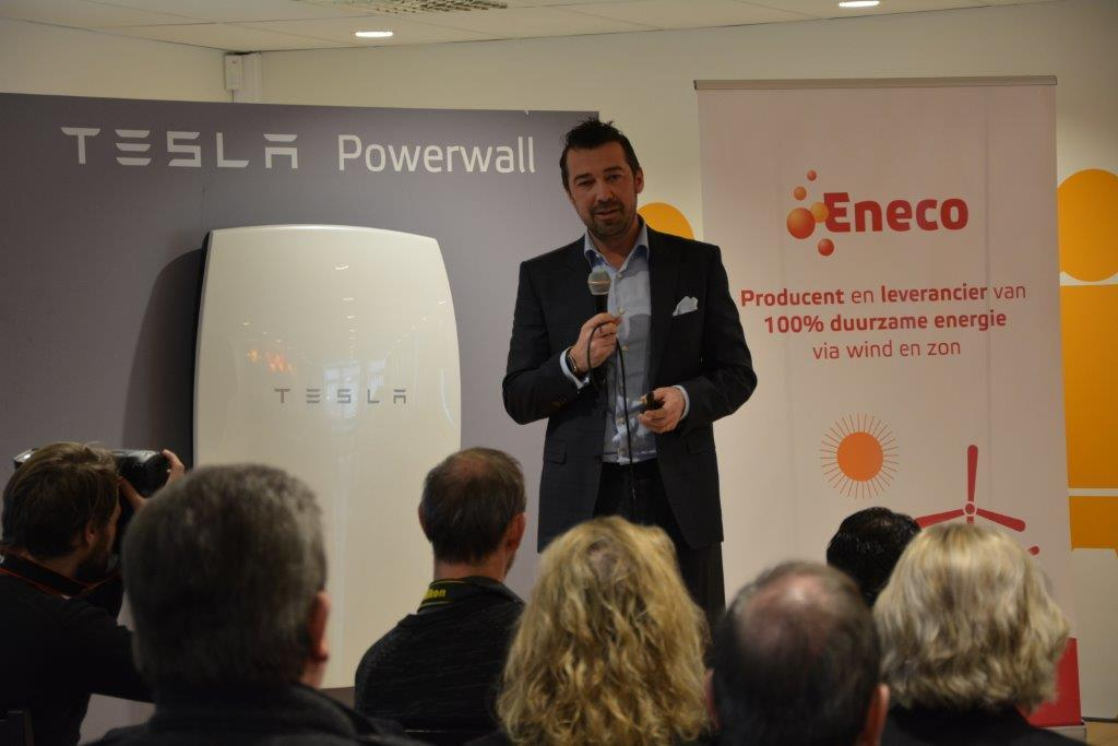 Christophe Degrez, CEO Eneco