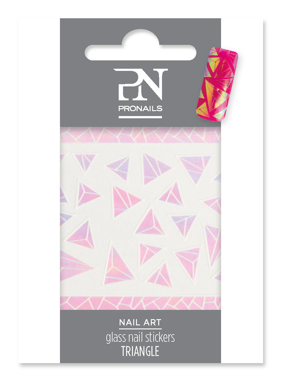 Glass Nail Stickers Triangle: € 5,10