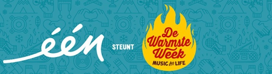 Eén steunt De Warmste Week van Music for Life