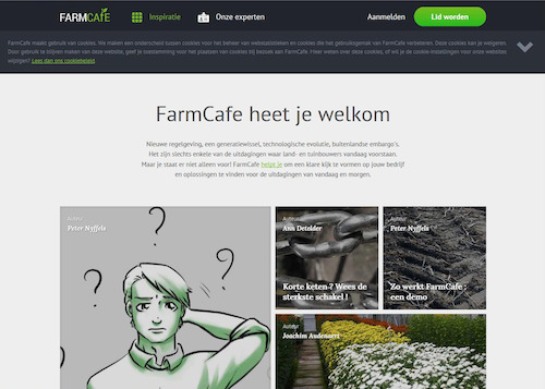 Homepage FarmCafe
