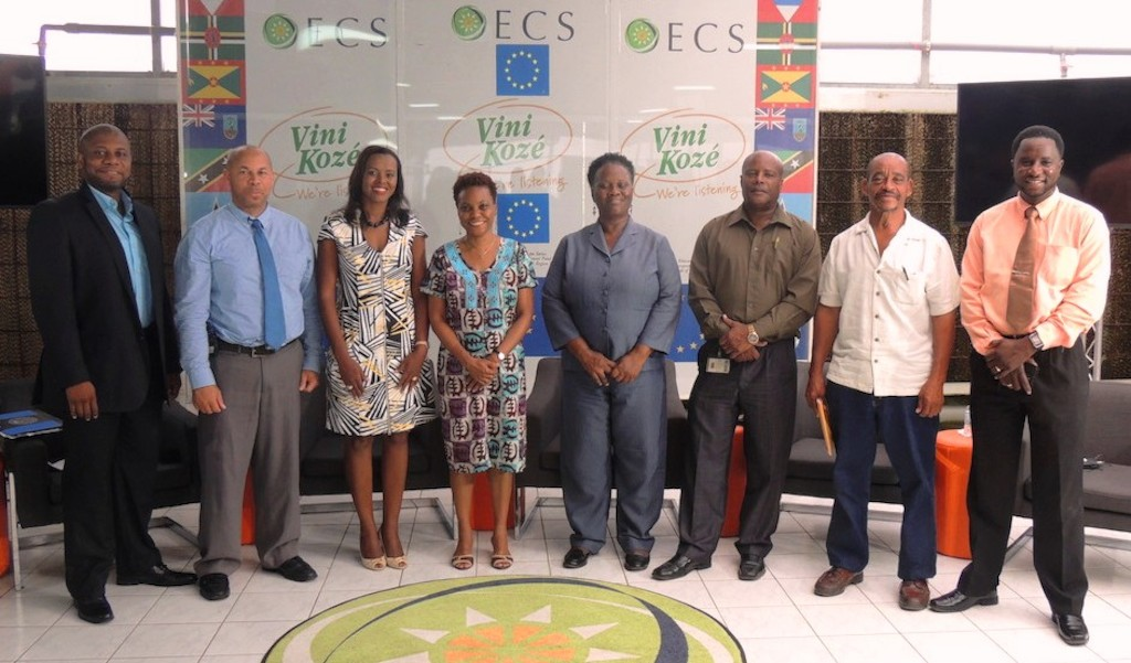 Panellists at the Vini Koze Forum on Agriculture in St. Lucia.
