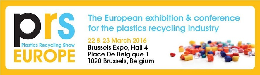 Plastics Recycling Show Europe - only one week to go