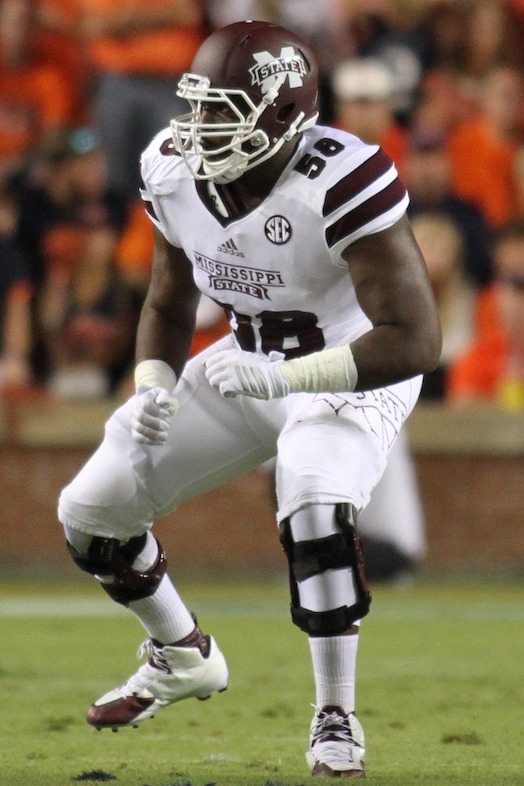 1. Justin Senior (Crédit : Mississippi State Athletics)