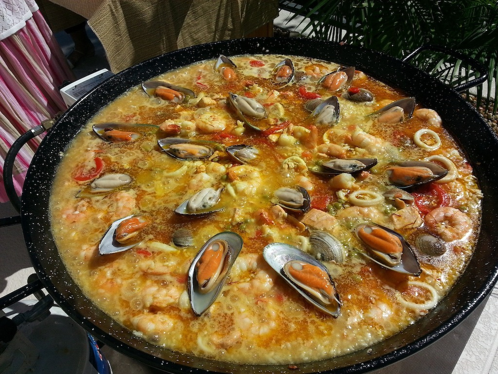 Spanish culture - Paella dish.