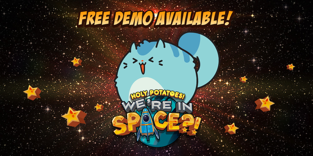 Holy Potaotes! We're in Space?! gets free demo