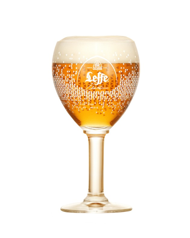 Glas Leffe by Charles Kaisin