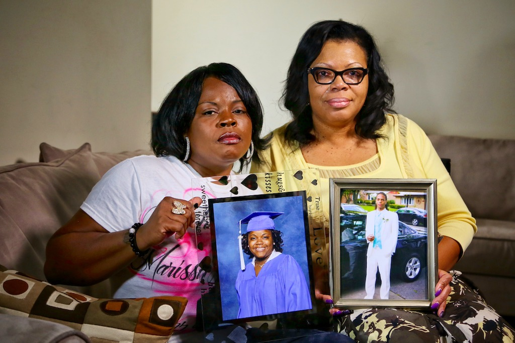 Mothers in Chicago grieve for their children killed in gun violence