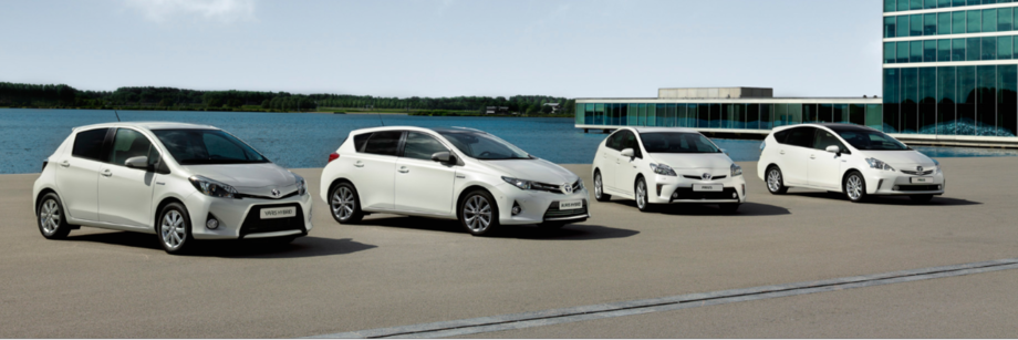 Toyota leads industry in CO2 emissions reduction in Europe