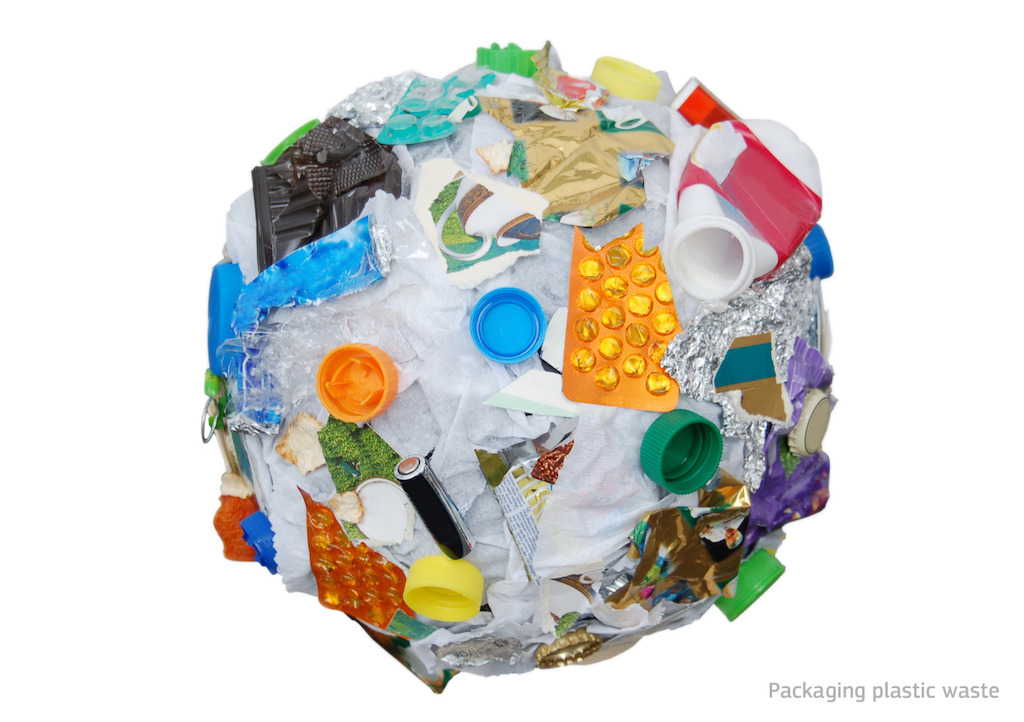 Packaging Plastic Waste