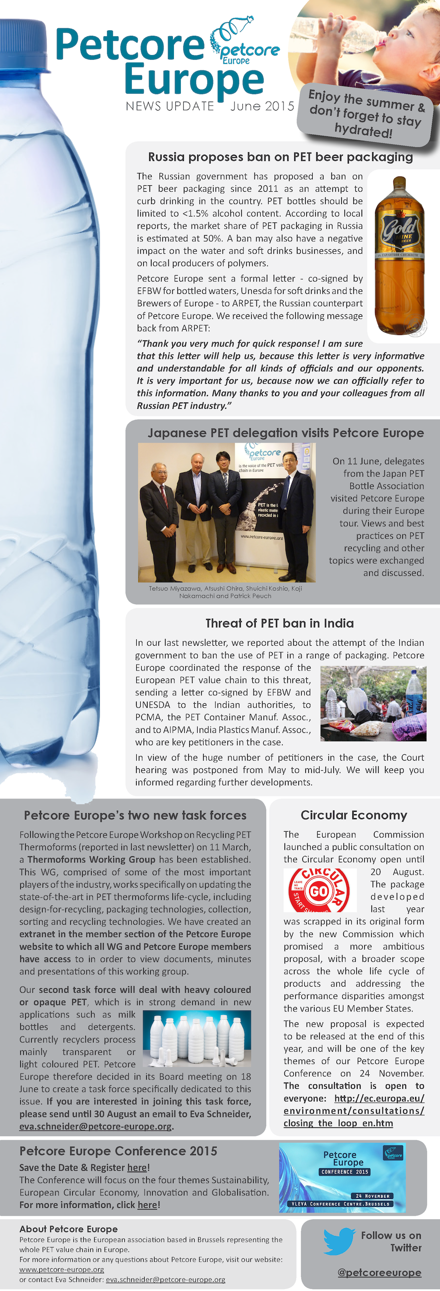Petcore Europe News Update - June 2015