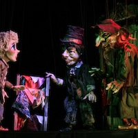 Oliver, The Artful Dodger and Fagin (Photo Credit: Simpich Marionettes)