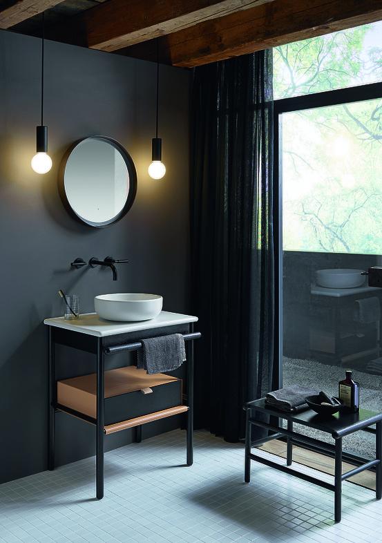 Salle de bains pur e au design parfait for Miroir noir download
