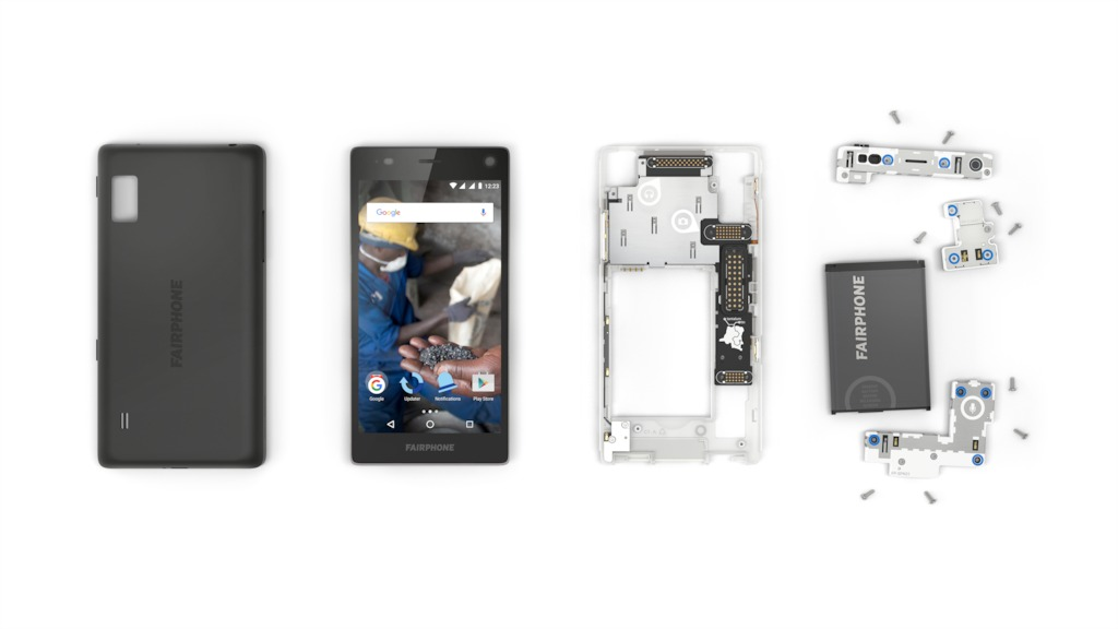 Fairphone disassembled