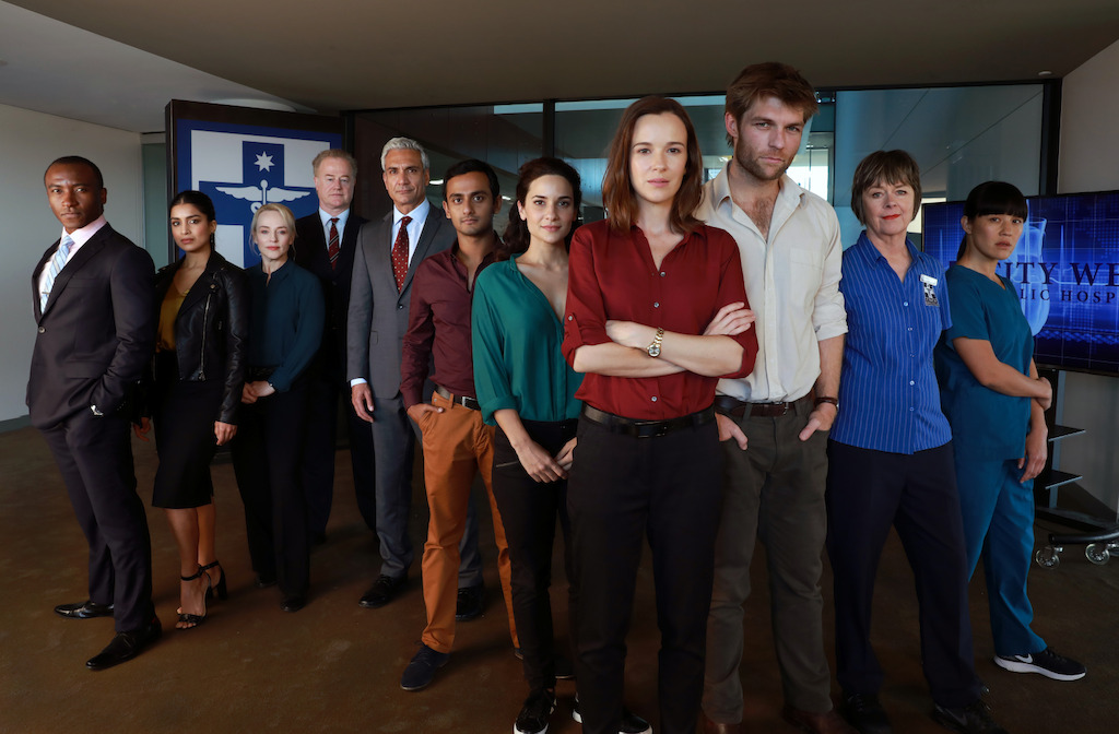 The cast of Pulse