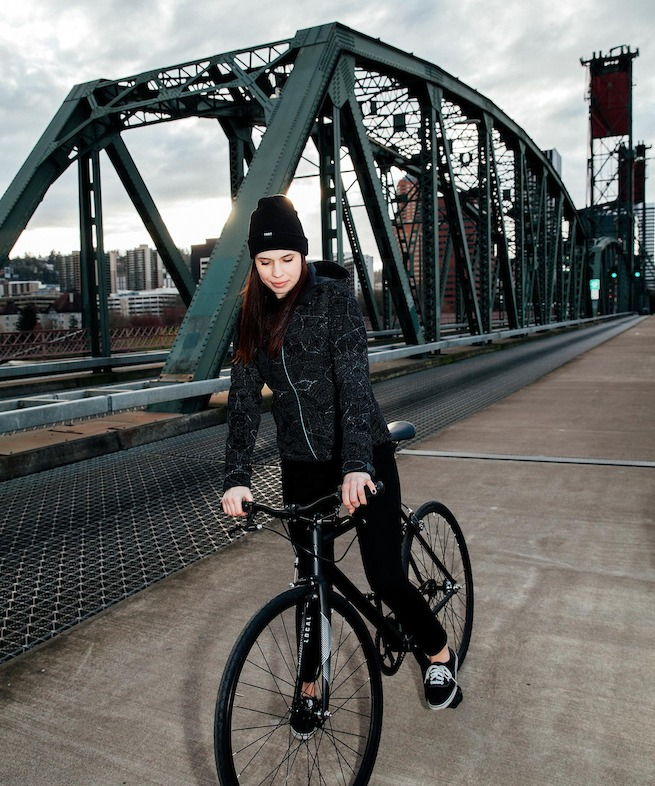 Women's Odyssey Jacket without Flash on Bridge