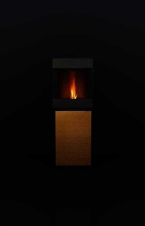 st v pr sente un nouveau po le pellet design unique et. Black Bedroom Furniture Sets. Home Design Ideas