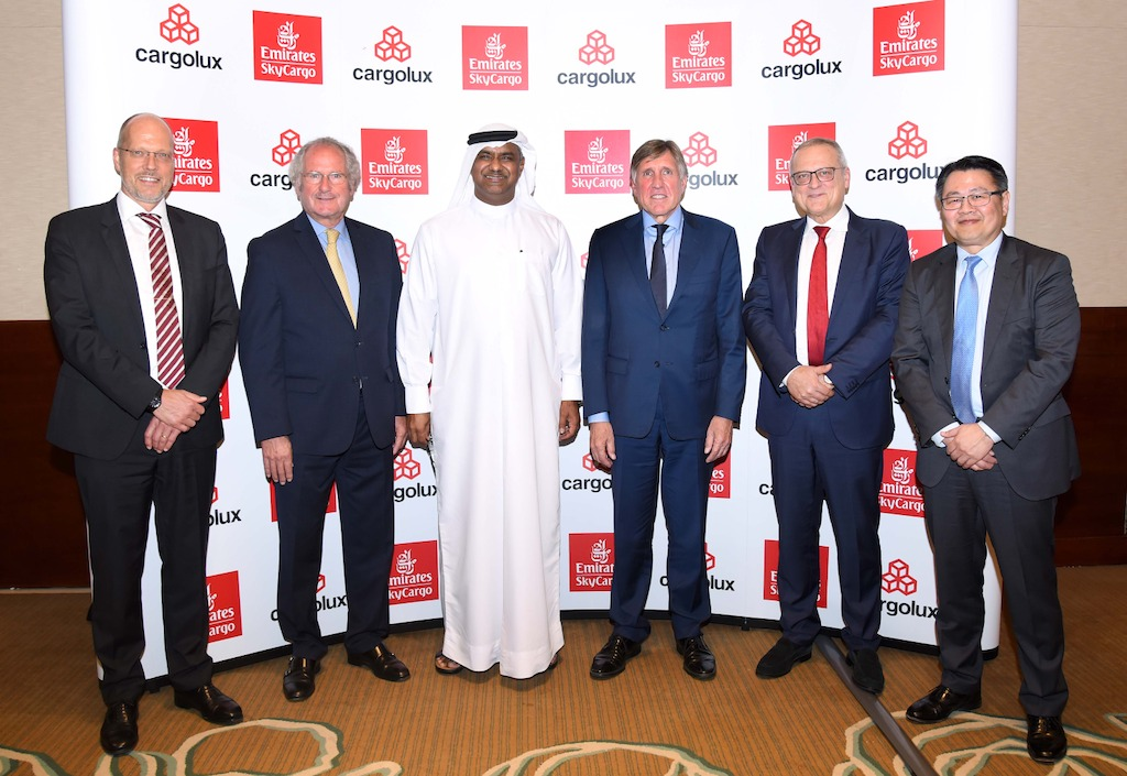 Emirates SkyCargo signs codeshare with Cargolux