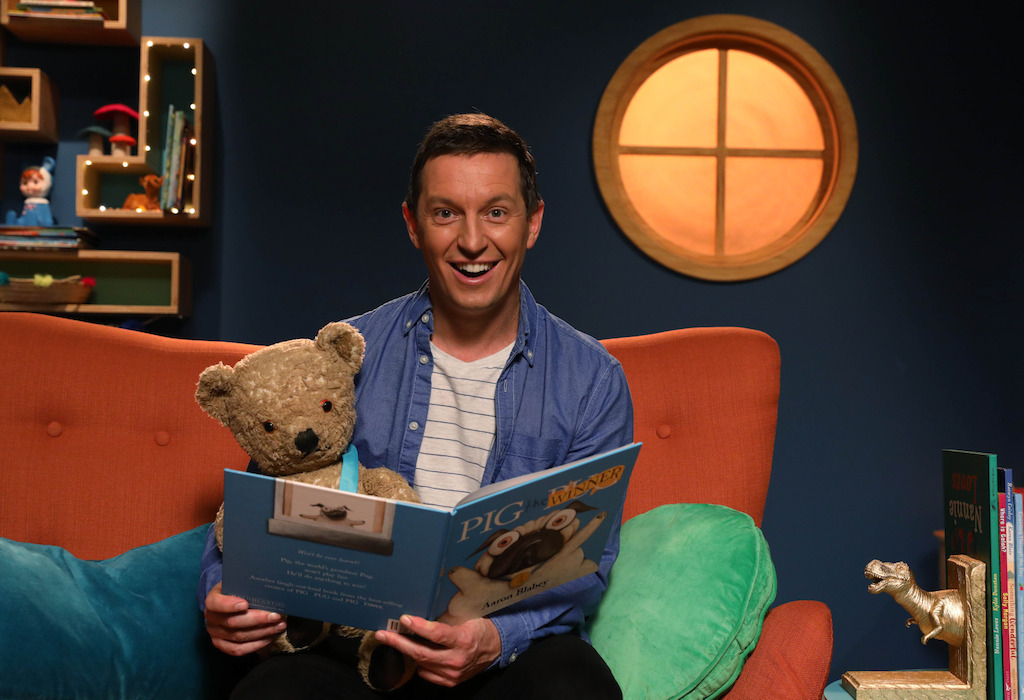 Play School's Story Time, Rove McManus & Little Ted crop