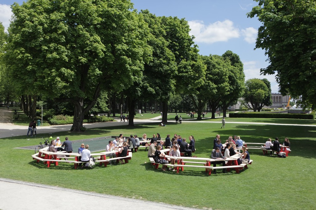 European Canteen in Jubelpark (Copyright eQuama)
