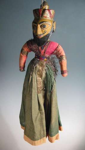 Indian Culture comes alive at the Center for Puppetry Arts, November 14