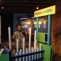 Build-u-lum (Photo Credit: Boston Children's Museum)