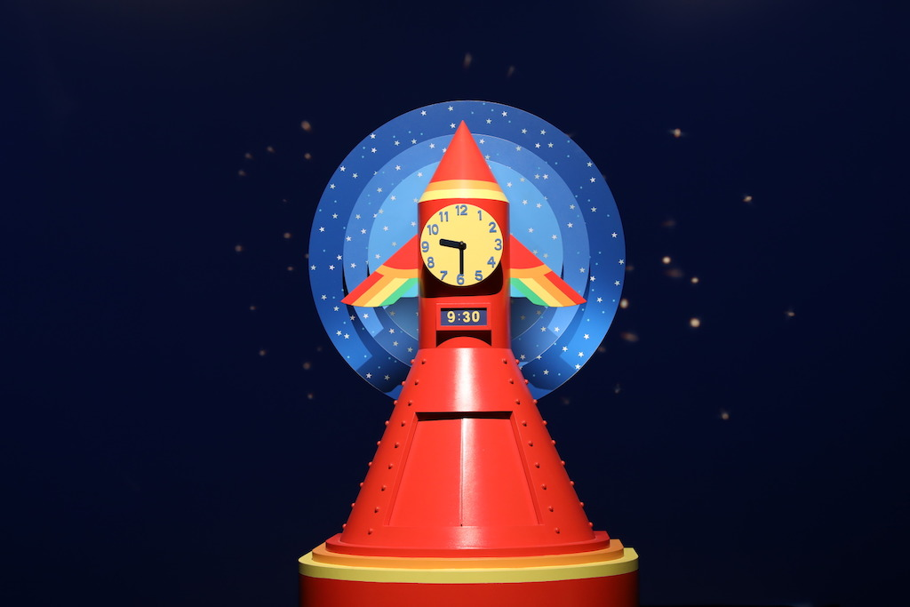 Introducing Play School's new Rocket Clock! The beloved clock was reimagined by leading Australian artist, writer and Academy Award winning filmmaker Shaun Tan. See it blast off in all-new Play School, Monday 9.30am.