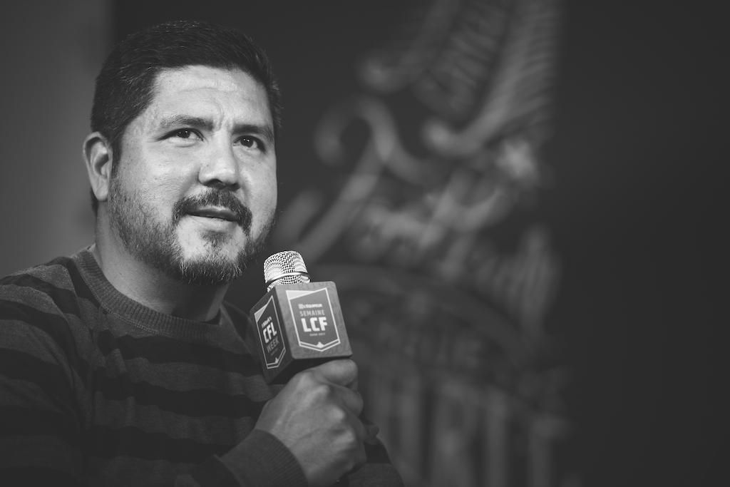 Canadian Football Hall of Fame Class of 2017 member Anthony Calvillo. Photo credit: Johany Jutras/CFL