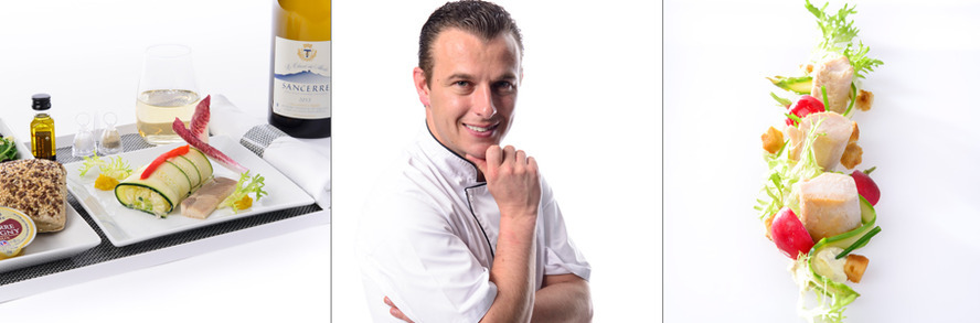 Brussels Airlines presents new Belgian Star Chef  Thomas Locus