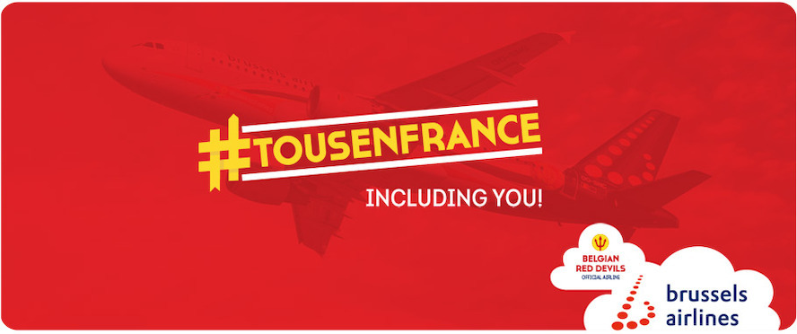 Brussels Airlines launches #Tousenfrance flights for Euro 2016