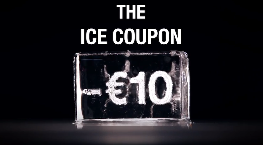 Finalist Prize Award voor CKS Ice Coupon.
