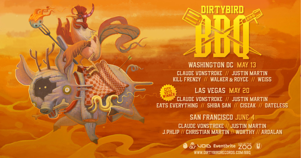 DIRTYBIRD Fires Up The Grill Again This Summer