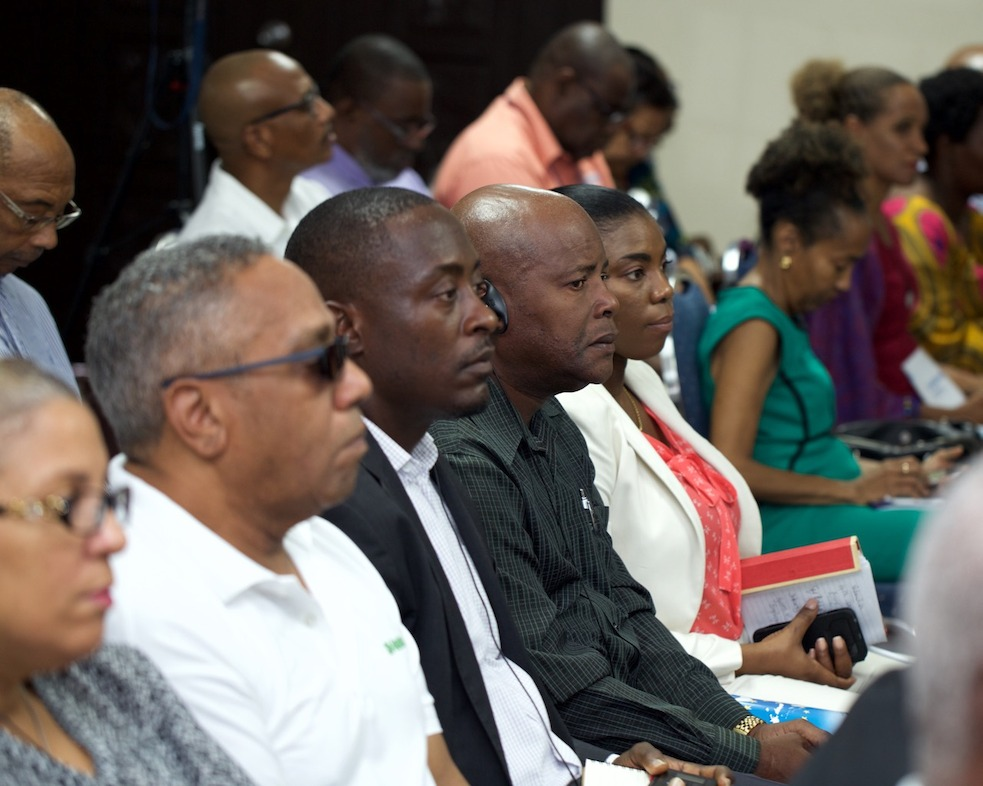 OECS Delegation represented at INTERREG V Programme Launch.