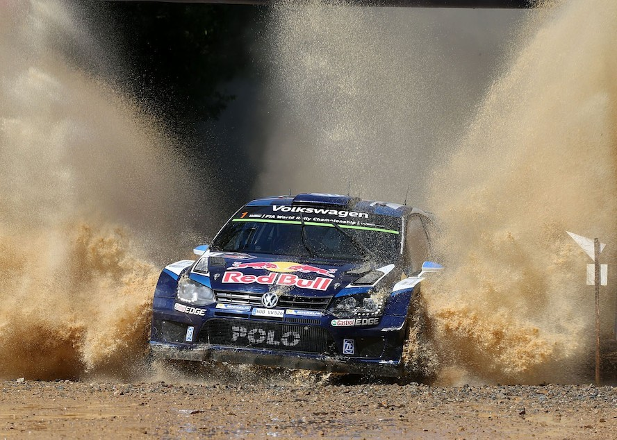 Volkswagen crowned world rally champions for third time