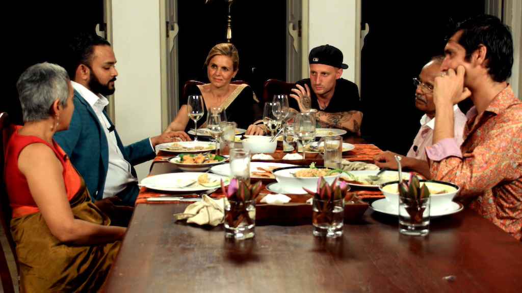 Marina van Zeller en Michael Voltaggio in Sri Lanka - (c) The Travel Channel